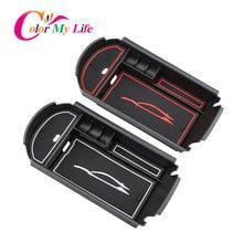 Цвет моя жизнь автомобильный подлокотник коробка для хранения центральная консоль Органайзер контейнер держатель коробка для Toyota C-HR CHR 2016-2018 аксессуары