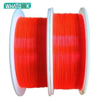 10 CM PMMA fluorescente de fibra óptica 3,0 MM LED óptica Cable rojo Neno para pistola cerrar luces Decoración de casa