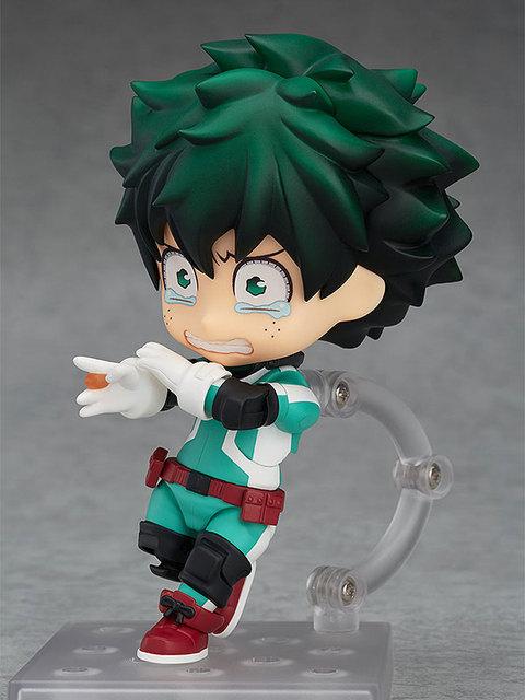 Anime My Hero Academia Nendoroid 705 bakugou katsuki & 686 MIDORIYA  IZUKU PVC action fiugre collection model toys boy gift