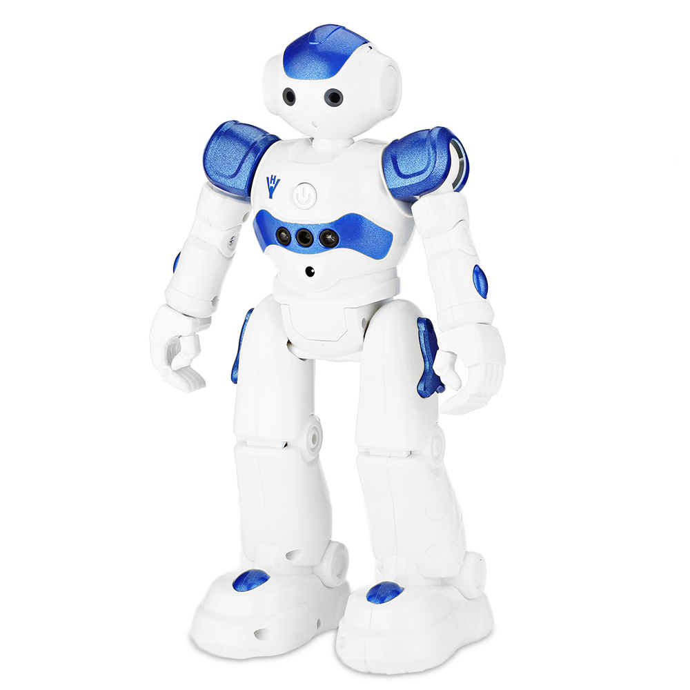 New RC Robot Toy Intelligent Programming Gesture Sensor Singing Dancing Glide Walk Action Figure Robots Toys Xmas Gifts for Kids jjrc r3 rc robot toys intelligent programming dancing gesture sensor control for children kids f22483 f22483