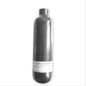 Image 2 - AC3035 Acecare 0.35L 4500Psi Airsoft butla z włókna węglowego kompozytowy PCP/Paintball zbiornik do strzelania do celu karabin pneumatyczny wiatrówki