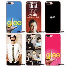 Soft Transparent Shell Cases For Xiaomi Redmi 4A 4X 3S Note 3 4 5 Pro 5A Mi3 Mi4 Mi5 Mi6 Mi A1 Max 5X 6X Glee star Cory Monteith(China)
