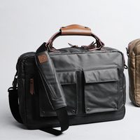 New Group 14/15 inch Portable KUMON Laptop Briefcase Handbags Rubberized canvas Crossbody Bags Messenger Bags for MacBook Cases
