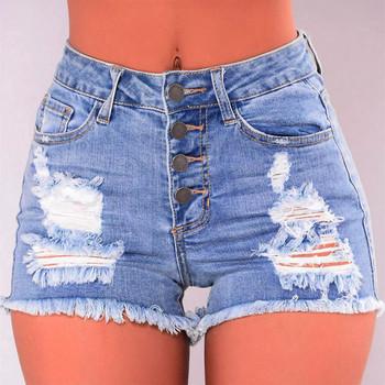 Dżinsy mujer porwane dżinsy dla kobiet Slim znoszone podarte dziury miękkie wygodne krótkie mini dżinsy Denim seksowne spodnie szorty dżinsy kobieta tanie i dobre opinie COTTON Na co dzień Jeans pants Powlekane Szerokie spodnie nogi Luźne Średni Kobiety Wysoka Tassel Otwór Zipper fly