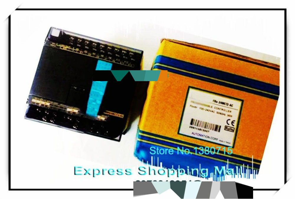 New Original FBS-40MCT2-AC PLC AC220V 24 DI 16 DO transistor Main Unit new and original fbs cb22 fbs cb25 fatek communication board