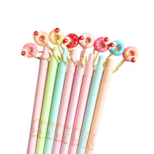 24pcs/lot Colorful Donut Cat Automatic Pencil 0.5mm Random Office Stationary Kawaii School Supplies