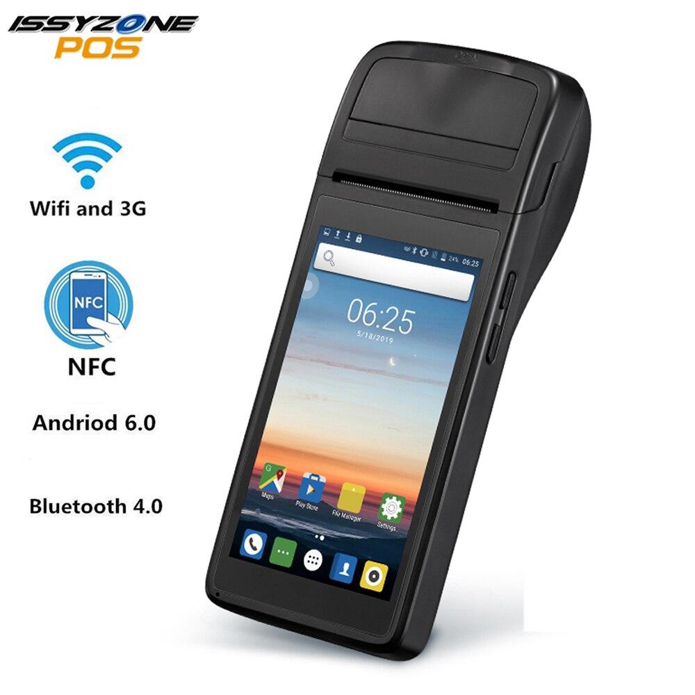 PDA Android 6.0 PDA POS Impressora Térmica Impressora de Recibos IssyzonePOS 58mm 4G PDA Handheld terminal POS WIFI Bluetooth para o Varejo