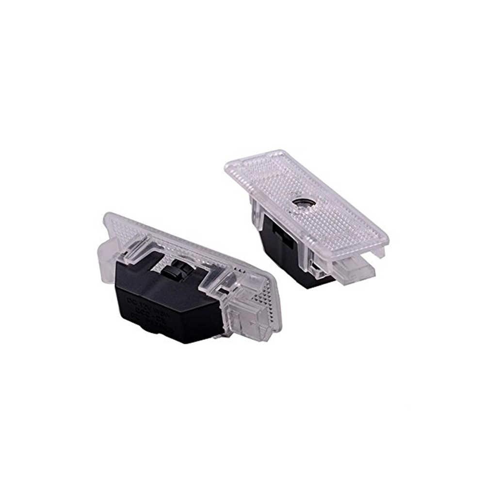 Melek kanat Logo lazer projektör ışık araba Styling kapı nezaket hoşgeldiniz BMW X5 E53 Z8 E52 I3 I8 E39 5-serisi gölge