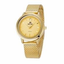 2016 Belbi Mujeres De Lujo Miran Reloj de Cuarzo Wrap Vestido de Las Mujeres Relojes de Moda de Señora Reloj Impermeable Relojes Relojes Mujer