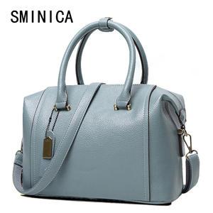 0902e5b424fb top 10 most popular genuine leather bag women handbag famous brand ...