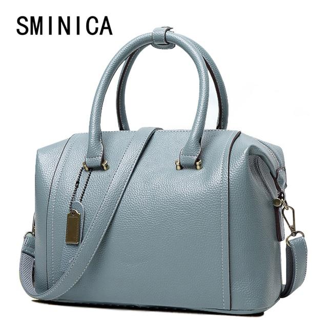 f85e23f3ff3 women genuine leather bag Women s messenger bags tote handbags women famous  brands high quality shoulder bag ladies 25S0119