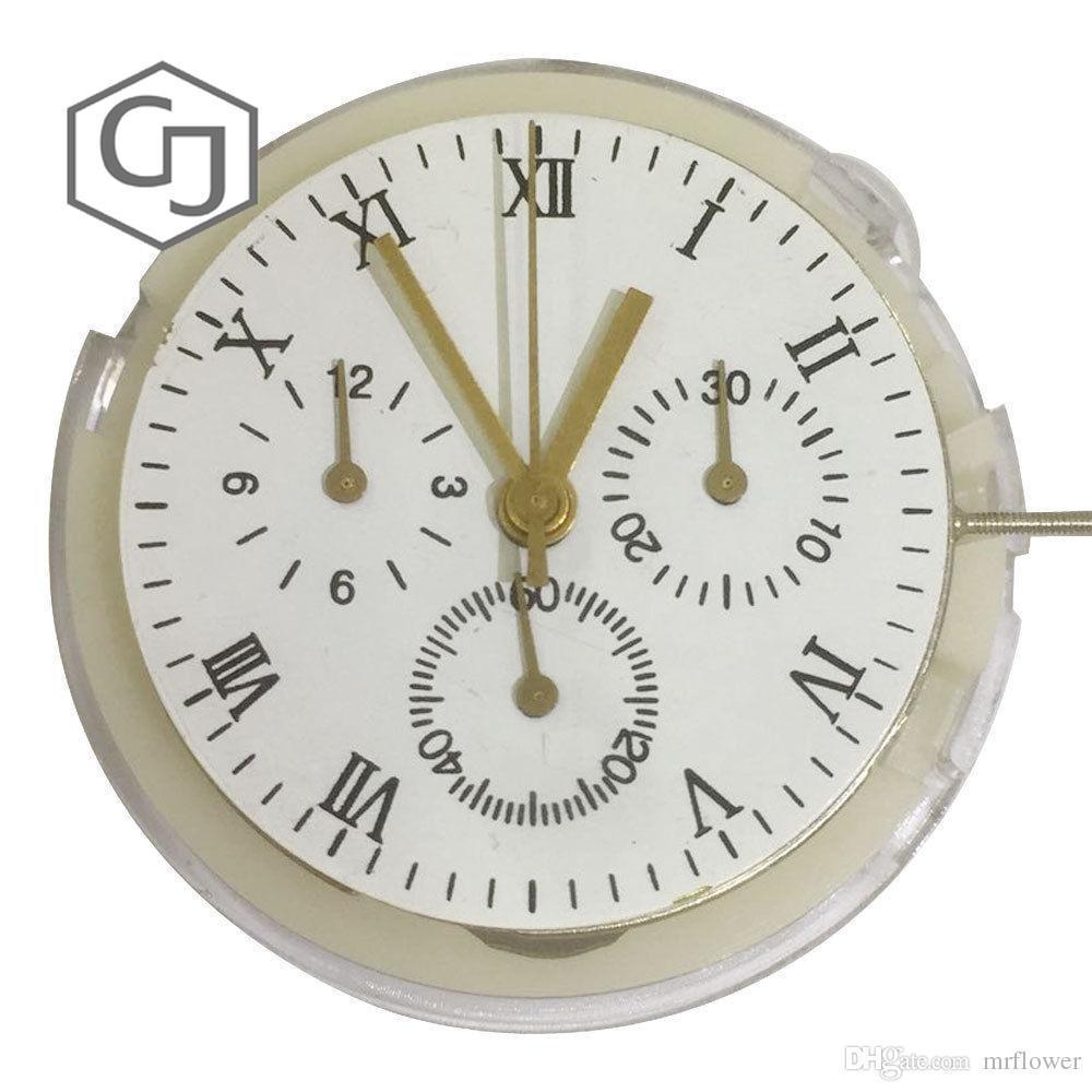 7750 série clone 7753 mouvement mouvement chronogrpah automatique de haute qualité-in Outils et kits de réparation from Montres    1