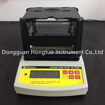 Medidor de densidad de pureza de oro multifuncional de alta precisión electrónico de DH-1200K
