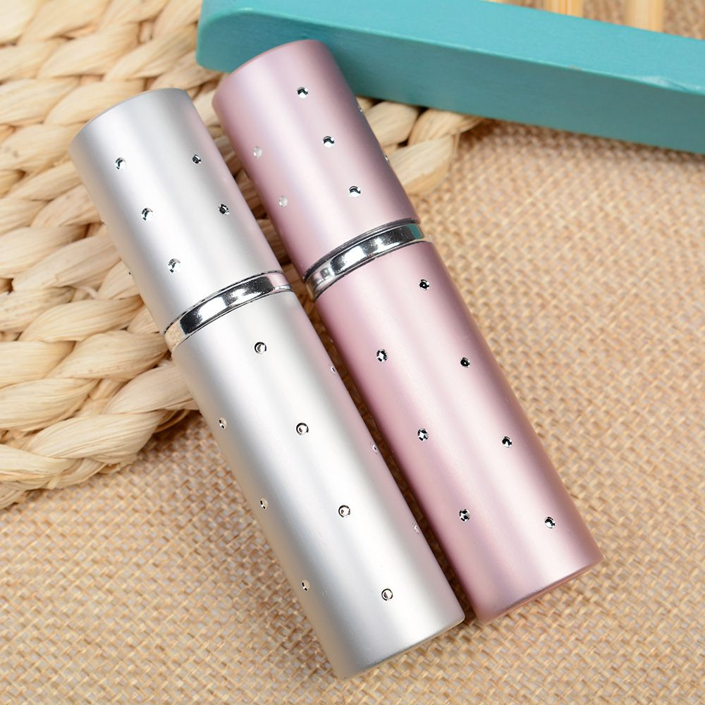 5ML Scent Pumps Travel Portable Refillable Perfume Atomizer Spray Bottle For Dropshipping