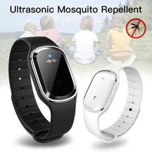 Pokich Portable Watch Ultrasonic Anti Mosquito Insect Repellent Bracelet Electronic USB Charging bracelet Mosquito Killer ultrasonic multi function mosquito repellent insect killer
