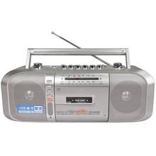 Pas cher marque bande enregistreurs/enregistreur/enseignement machine/bande/cassette machine/basse Haut-Parleur Intégré Peut U disque MP3 Radio