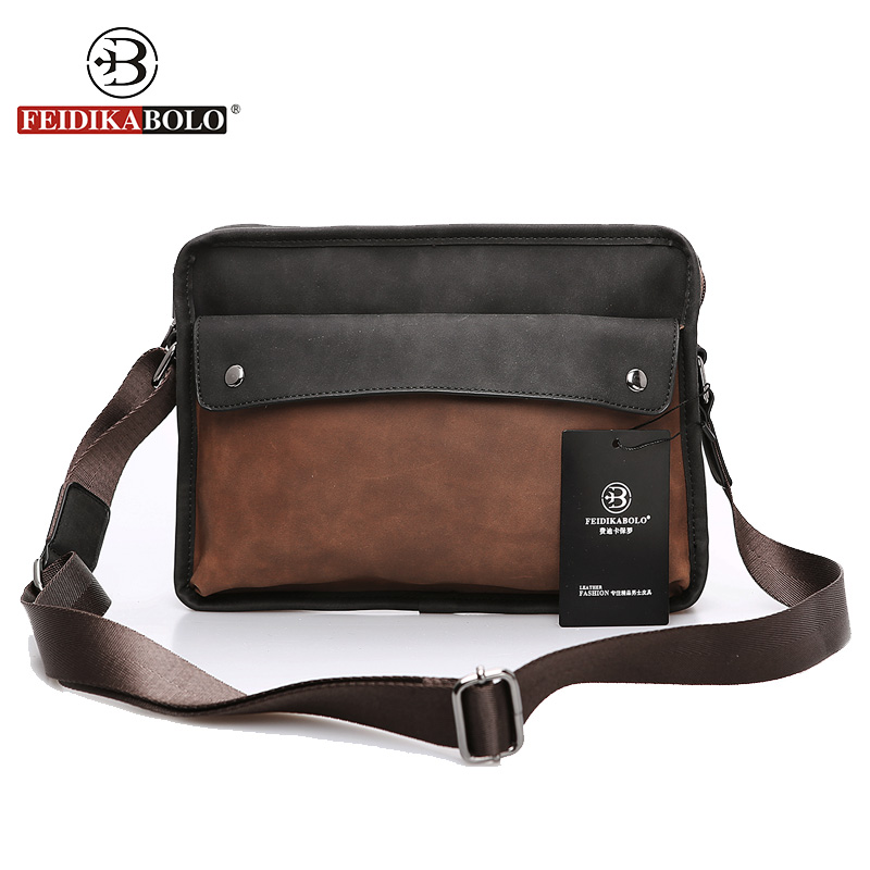 FEIDIKA BOLO Brand Bag Men Messenger Bags New Shoulder Leather Handbag High Quality Men's Crossbody Bags for Men Shoulder Bags feidika bolo brand bag men messenger bags new shoulder leather handbag high quality men s crossbody bags for men shoulder bags