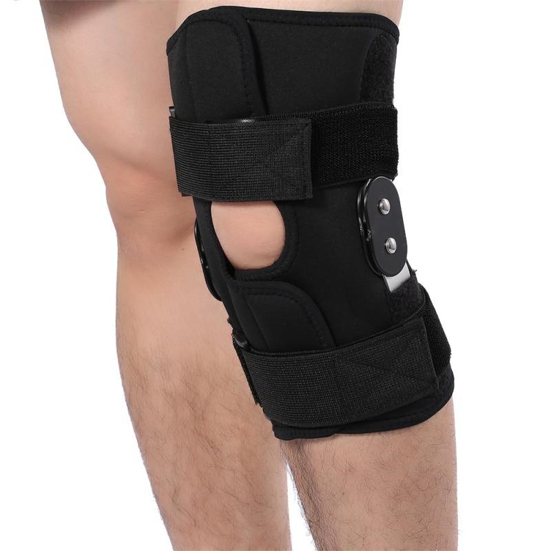 Outdoor Sport Knee Support Arthritis Compression Sleeve Hole Hinged Kneepad Adjustable Support Pad Brace Knee Protector 2018 New