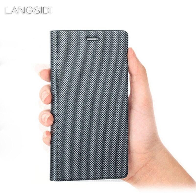 Genuine Leather case telefone Para Xiao mi mi Pocophone F1 8 A1 A2 Lite mi 9t K20 pro Para O Vermelho mi Nota 5 Plus 4X Teste Padrão do diamante shell