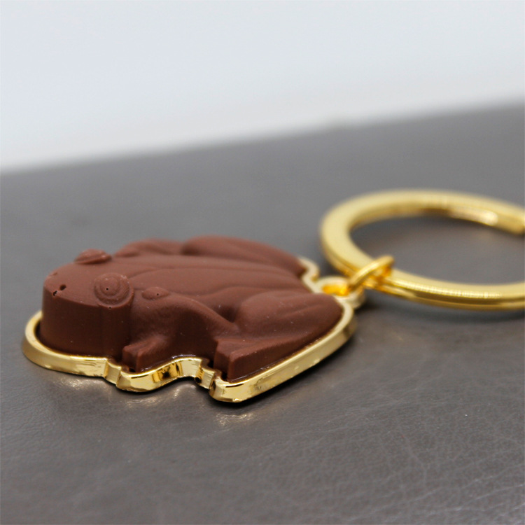 Chocolate Frog Keychain For Harry Potter Anything from Trolleys Wizard Magic World Quality Muggles Cosplay Kids Fans