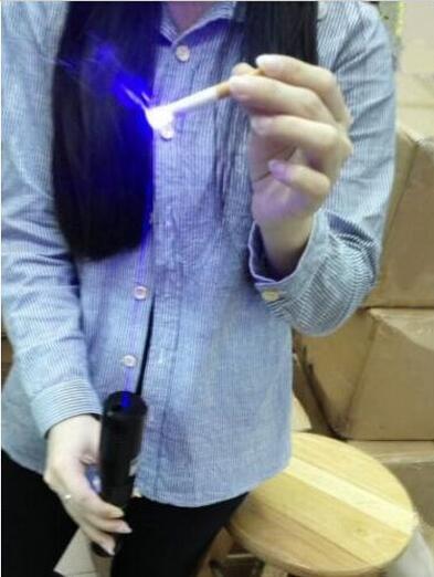 HIGH POWER 450nm 50000mw Cutting Burning Laser Pointer adjustable focus laser pens BLUE LASER BOX CHARGER