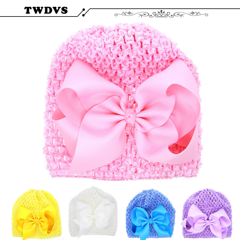 цена на TWVDS Kids Flower Headband Floral Hairband Turban Knot Rabbit Bowknot Headwear Hair Band Accessories MZ05