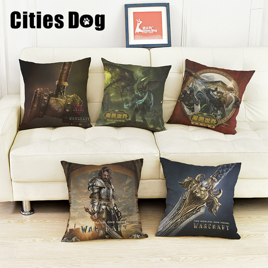 Europe and the United States film Decorative pillows cushion World of Warcraft Pillow cushions christmas decorations for home