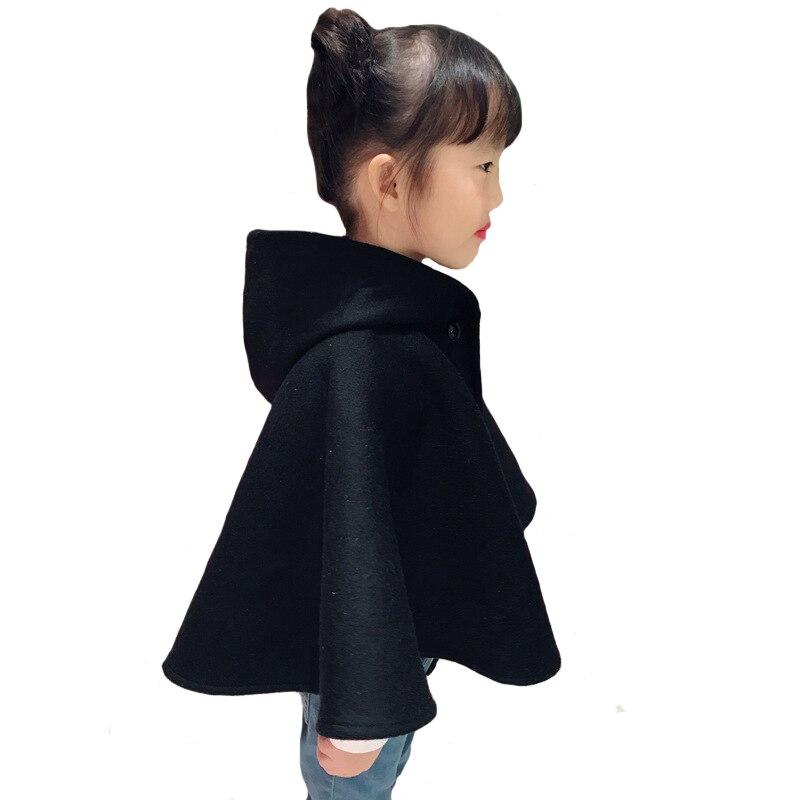 Marque filles laine manteau laine châle bébé vêtements enfants manteau de haute qualité 3y-8y - 3