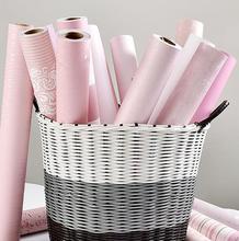 ピンクエロ部屋のレイアウトの装飾寮ピンク壁紙自己粘着ベッドルームウォームガールステッカー壁紙