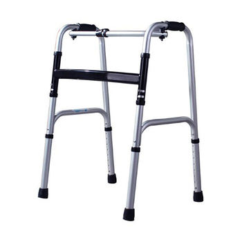 Old man portable aid step implement/aluminum alloy medical instrument crutches help line for the disabled, four feet walking sti