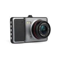 Dash Cam 4 inch Car dvr Camera Full HD 1080P dvr Video Recorder Registrator G Sensor 170 Degree dual Lens Camera Car dvrs