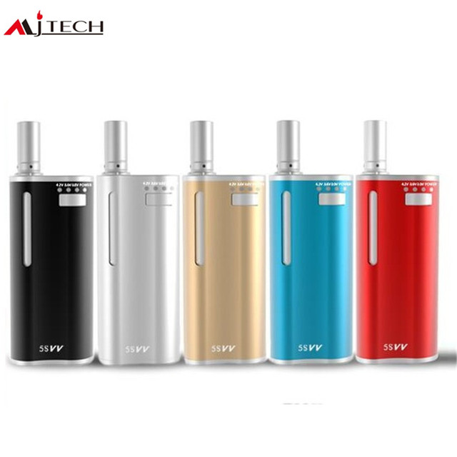 Original mjtech 5s vv kit Vape Pen Mini Kit with 650mah Battery Built-in  Protable