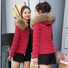 5XL Womens Parka Casual Big fur collar Outwear Autumn Winter Military Hooded Coat Jacket Fur Coats Jackets And 4XL
