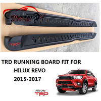 CITYCARAUTO CAR ACCESSORIES EXTERIOR AUTO PARTS TRD Nerf Bars ALLOY RUNNING BOARD FIT FOR TOYOTA HILUX