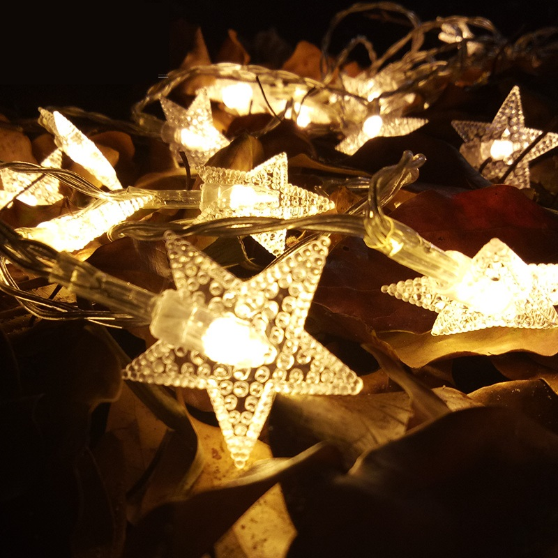 6 meters 40 LED Star String Lights used for decoration Fairy Lights Christmas Wedding Holiday  led lights decoration