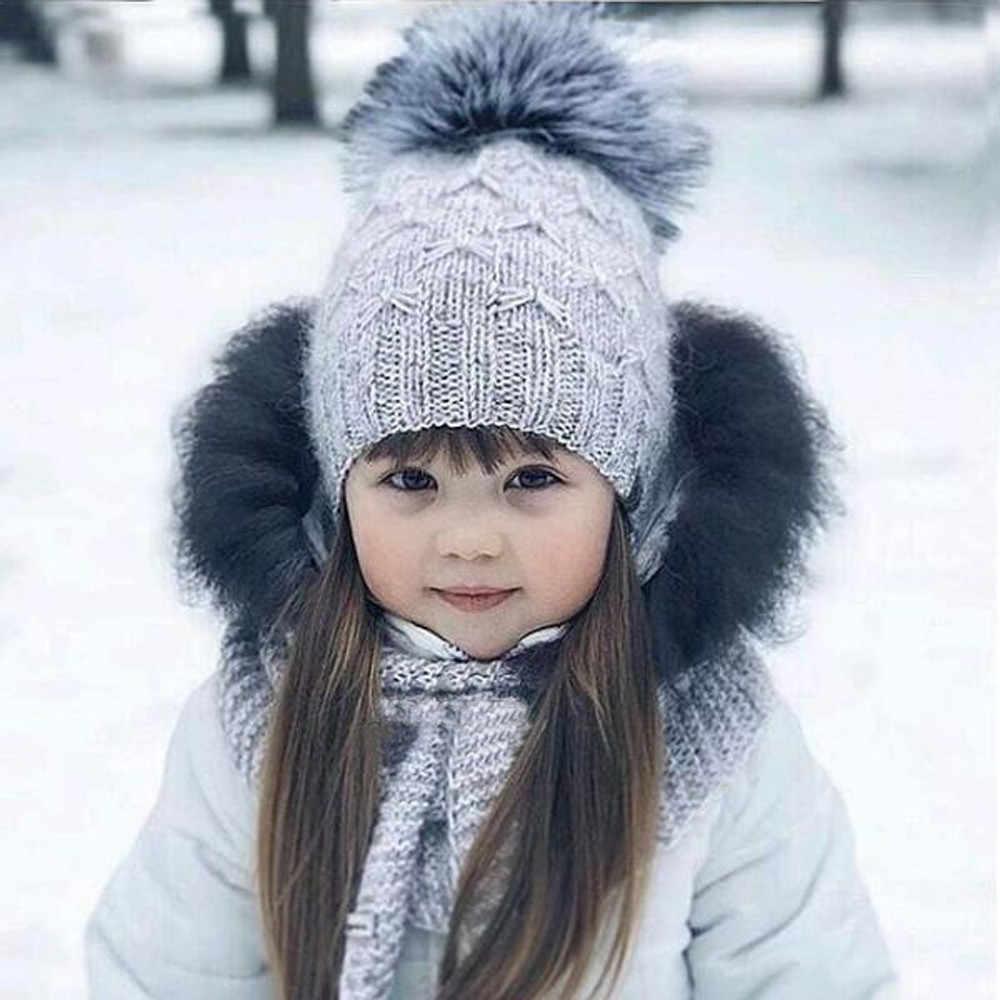 Muqgew милые детские зимняя шапка шапочка для маленьких детей девочек и мальчиков
