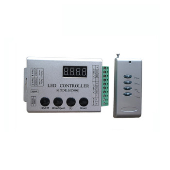 5X WS2811 digital LED strip controller  Max 2048 pixels 5V,12-24V input available free shipping