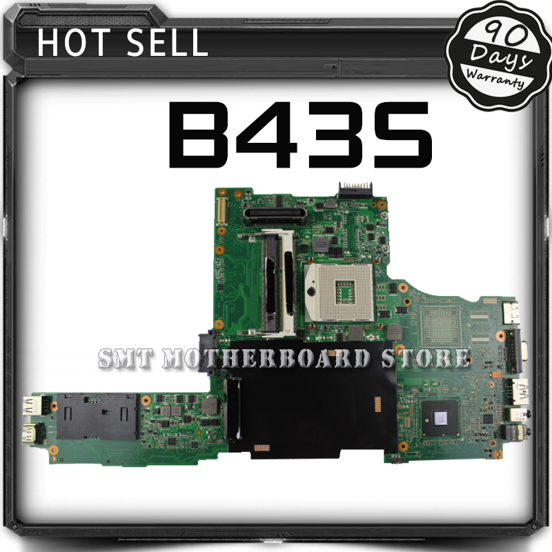 For ASUS B43 B43S Laptop Motherboard System Board Main Board Mainboard Card Logic Board Tested Well Free Shipping laptop motherboard for hp dm1 2000 dm1 608640 001 system mainboard fully tested and working well with cheap shipping