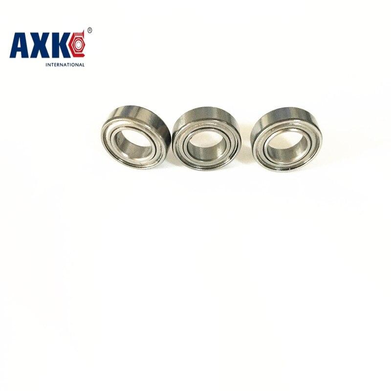 4PCS  7x11x3  Metal Shields Bearings  ABEC-7 Stainless Steel  SMR117 ZZ