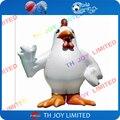 13ftH traje da galinha para a publicidade de brinquedos infláveis inflável gigante, gigante inflável galo