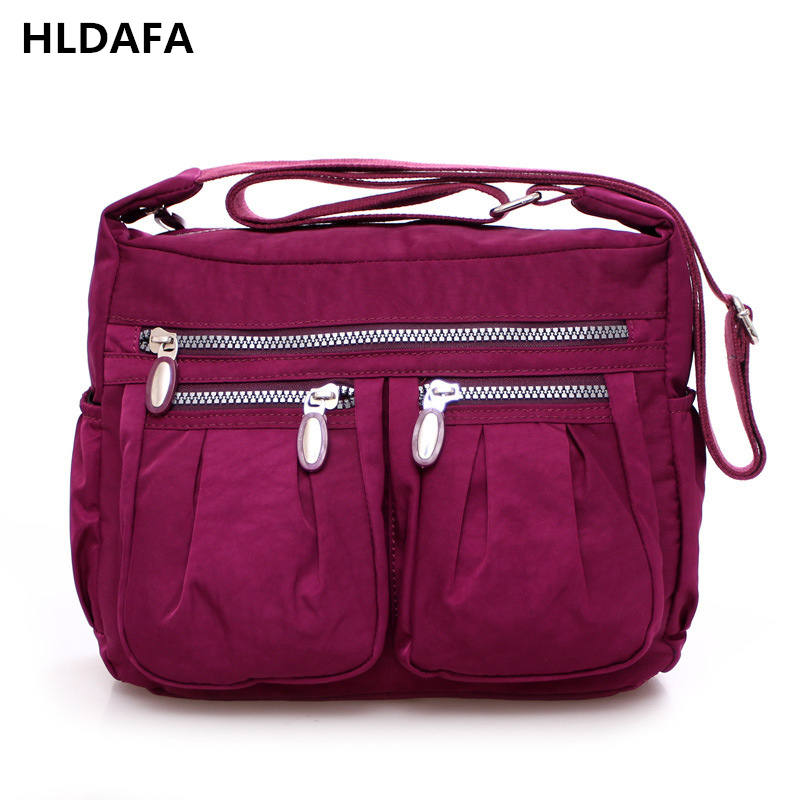Women's Messenger Bags Ladies Nylon Handbag Travel Casual Original Bag Shoulder Female High Quality Large Capacity Crossbody Bag women s messenger bags ladies nylon handbag travel casual bag shoulder female high quality large capacity crossbody bags