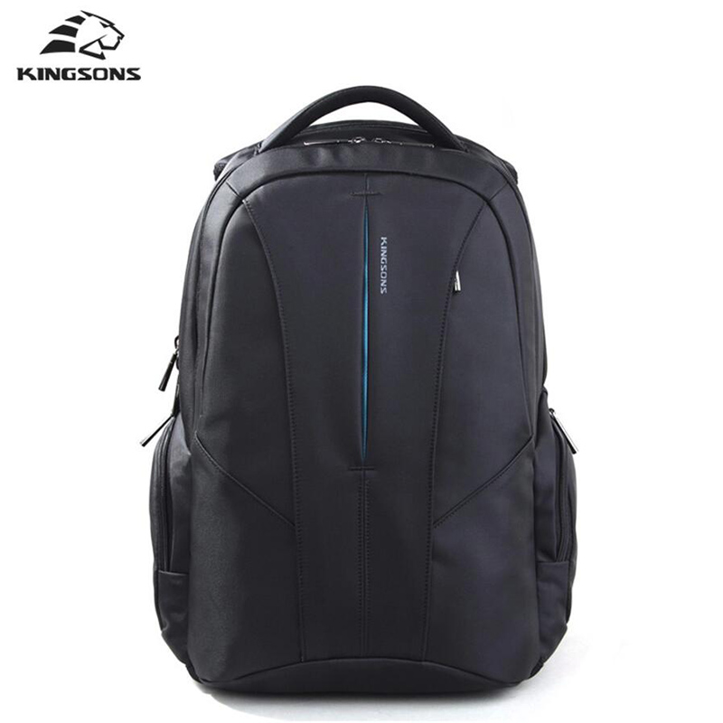 Kingsons 15.6 inch Laptop Backpack Men's Bag Multifunction Rucksack Large Capacity Anti-theft Waterproof Mochila School Bag