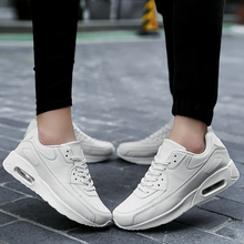 2017 spring new sneakers men couple breathable personality running shoes black women Zoom Air air cushion Max Sports