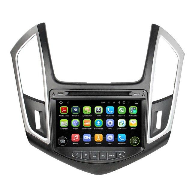 """KLYDE 8 """"2 Din Android 8.1 Rádio Do Carro Para Chevrolet CRUZE 2015 Multimídia De Áudio Do Carro de Som Do Carro DVD Player controle Da Roda de direcção"""