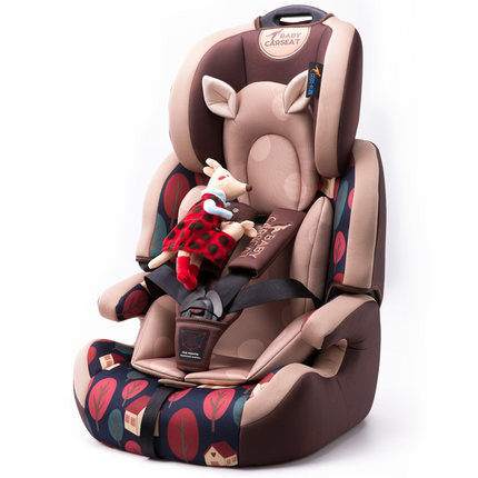 Medio ambiente cómodo asiento de seguridad infantil para 9 meses a 12 años de edad el uso del bebé