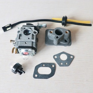 Image 3 - Carburetor Base Connector Intake Manifold Fuel Hose 43cc 52cc 40 5 BC430 CG430 CG520 1E40F 5 44F 5 Motor Brush Cutter Trimmer