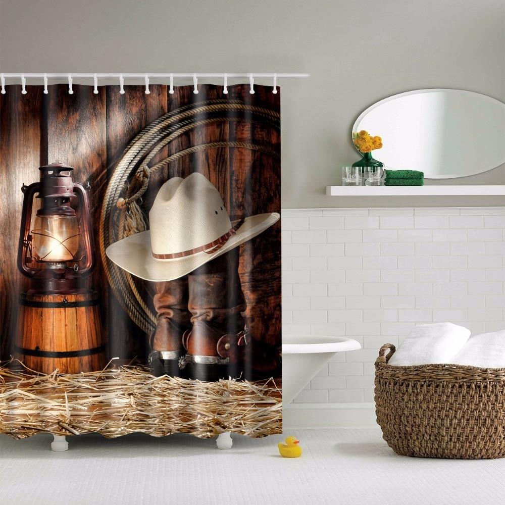 Shower Curtains Cabin Decor Cabin Shower Curtains