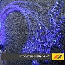 FY-1 волоконно-оптический Хрустальный Светильник Люстра светильник концевые фитинги