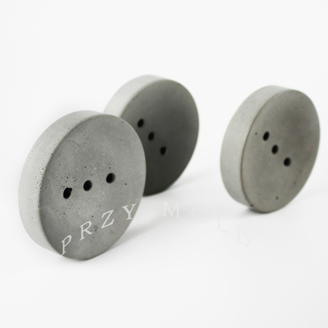 silikonová forma Betonové cementové výrobky ručně vyráběné mýdlové formy na sedání cementové formy pro život