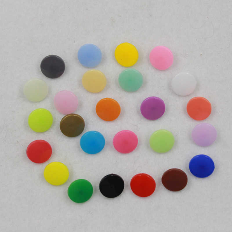 Prajna Wholesale Price 20 Sets KAM T5 Baby Resin Snap Buttons Plastic Snaps Raincoat Clothing Tool Press Stud Fasteners 30 color